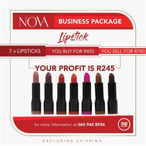 Matte Lipstick Business Package