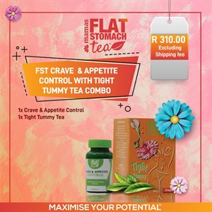 FST Crave and Appetite Control with Tight Tummy Tea Combo