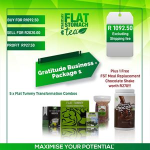 Gratitude Business Package 1- Flat Tummy Transformation *77310