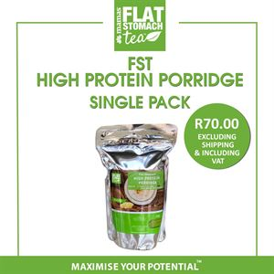 Flat Stomach High Protein Porridge  Single Pack