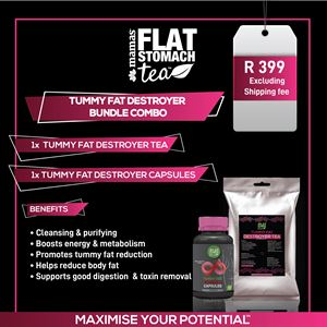 Tummy Fat Destroyer Bundle  Combo